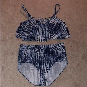 Torrid tie dye bikini